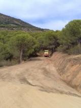 Arreglo de caminos para prevención de incendios en la provincia de Córdoba